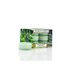 Candele profumate Yankee Candle color verde  Wild Mint Tea-Light online scontato del % - Prezzo:   9.95 €