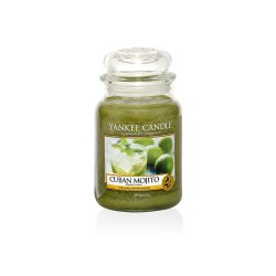 Candele profumate Yankee Candle color verde  Cuban Mojito Large Jar online - Prezzo:   29.90 €