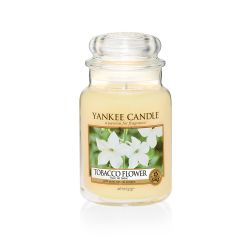 Candele profumate Yankee Candle color giallo  Tobacco Flower Large Jar online - Prezzo:   29.90 €
