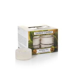 Candele profumate Yankee Candle color bianco  White Tea Tea Light online - Prezzo:   9.95 €