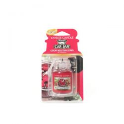 Yankee Candle per auto  color rosso  Red Raspberry Car Jar Ultimate online - Prezzo:   5.99 €