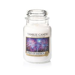 Candele profumate Yankee Candle color bianco  Spirit Of America online - Prezzo:   29.90 €