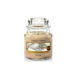 Candele profumate Yankee Candle color beige  Warm Cashmere Small Jar online - Prezzo:   11.90 €