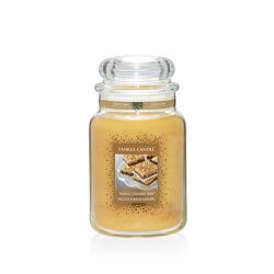 Candele profumate Yankee Candle color giallo  Magic Cookie Bar Large Jar online - Prezzo:   29.90 €