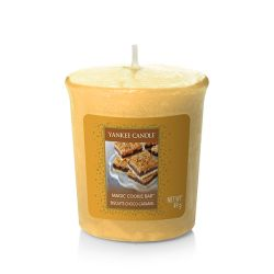 Candele profumate Yankee Candle color giallo  Magic Cookie Bar Votive Candle online - Prezzo:   2.65 €