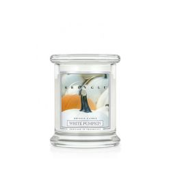 Candele profumate Kringle Candle color bianco  White Pumpkin PREMIUM online - Prezzo:   13.93 €