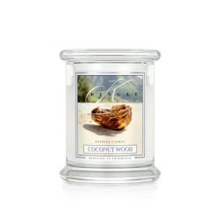 Candele Profumate Kringle color bianco  Coconut Wood Medium Jar online - Prezzo:   26.95 €