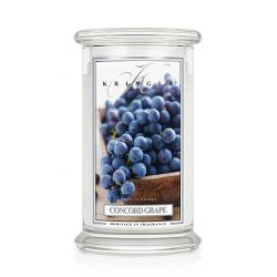 Candele profumate Kringle Candle color bianco  Concord Grape Large Jar online - Prezzo:   21.63 €
