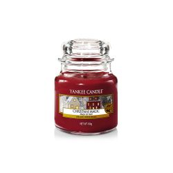 Candele profumate Yankee Candle color rosso  Christmas Magic Small Jar online - Prezzo:   11.90 €