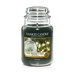 Candele profumate Yankee Candle color verde  The Perfect Tree Large Jar online - Prezzo:   29.90 €