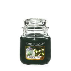 Candele profumate Yankee Candle color verde  The Perfect Tree Medium Jar online - Prezzo:   24.90 €