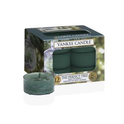 Candele Profumate Yankee Candle color verde  The Perfect Tree Tea-Light online - Prezzo:   9.95 €