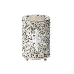Accessori Yankee Candle color bianco  Wax Melt Warmer Twinkling Snowflake online - Prezzo:   23.99 €