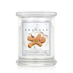 Candele profumate Kringle color bianco  Ginger Snow Angel Medium Jar online - Prezzo:   26.95 €