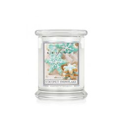 Candele profumate Kringle color bianco  Coconut Snowflake Medium Jar online - Prezzo:   26.95 €