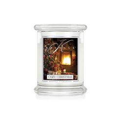 Candele profumate Kringle color bianco  Cozy Christmas Medium Jar online - Prezzo:   26.95 €