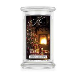 Candele profumate Kringle color bianco  Cozy Christmas Large Jar online - Prezzo:   30.95 €