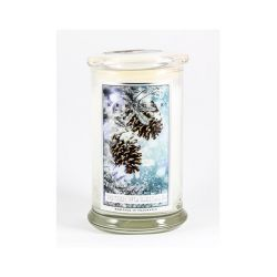 Candele profumate Kringle color bianco  Winter Wonderland Large Jar online - Prezzo:   30.95 €