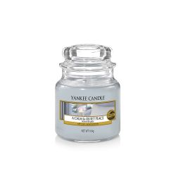 Candele profumate Yankee Candle color azzurro  A Calm & Quiet Place Small Jar online - Prezzo:   11.90 €