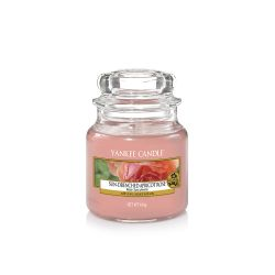 Candele profumate Yankee Candle color rosa  Sun-Drenched Apricot Rose Small Jar online - Prezzo:   11.90 €
