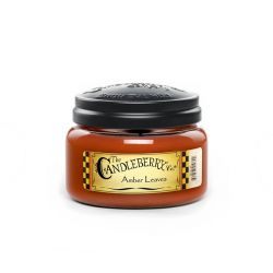 Candele profumate Candleberry color marrone  Amber Leaves Medium Jar online - Prezzo:   13.23 €
