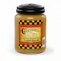 Candele profumate Candleberry color marrone  Toasted Almonds Large Jar online - Prezzo:   20.93 €