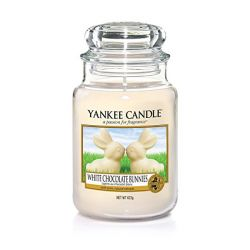 Candele profumate Yankee Candle color giallo  White Chocolate Bunnies Large Jar online - Prezzo:   29.90 €