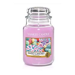 Candele profumate Yankee Candle color viola  Sweet Candies online - Prezzo:   29.90 €