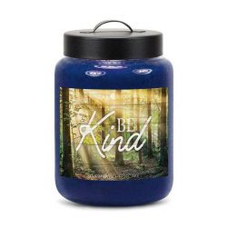 Candele profumate Goose Creek color blu  BE KIND Blueberry Cheesecake Large Jar online - Prezzo:   19.53 €