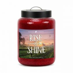 Candele profumate Goose Creek color rosso  RISE & SHINE Macintosh Apple online - Prezzo:   19.53 €