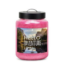 Candele profumate Goose Creek color rosa  HELLO ADVENTURE Strawberry Jam online - Prezzo:   19.53 €