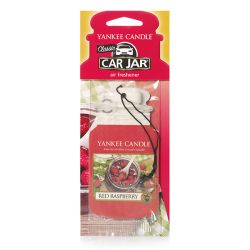 Profumatori per auto Yankee Candle color rosso  Red Raspberry Car Jar  online - Prezzo:   2.99 €