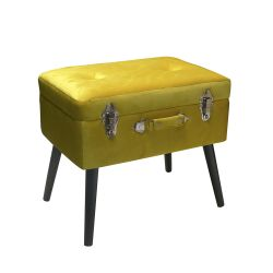 Living Pusher color giallo  Bauletto Pouff PUSHER online - Prezzo:   69.00 €