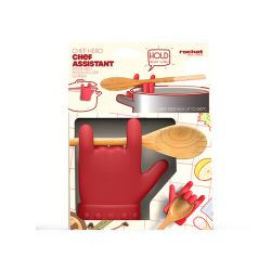 Idee regalo Natale  color rosso  CHEF HERO ASSISTANT online - Prezzo:   12.50 €
