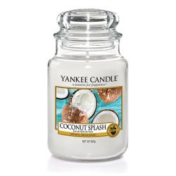 Candele Yankee Candle online  color bianco  Coconut Splash Large Jar online - Prezzo:   29.90 €