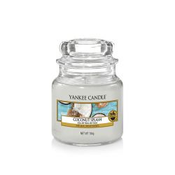 Candele profumate Yankee Candle color bianco  Coconut Splash Small Jar online - Prezzo:   11.90 €