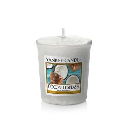 Candele profumate Yankee Candle color bianco  Coconut Splash Votive Candle online - Prezzo:   2.65 €