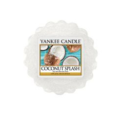 Candele Yankee Candle online  color bianco  Coconut Splash Tartina online - Prezzo:   2.25 €