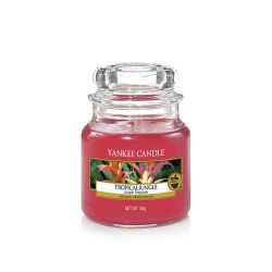 Candele Yankee Candle online  color rosso  Tropical Jungle Small Jar online - Prezzo:   11.90 €