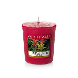 Candele Yankee Candle online  color rosso  Tropical Jungle Votivo online - Prezzo:   2.65 €