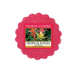 Candele profumate Yankee Candle color rosso  Tropical Jungle Wax Melt online - Prezzo:   2.25 €