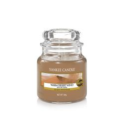 Candele Yankee Candle online  color marrone  Warm Desert Wind Small Jar online - Prezzo:   11.90 €