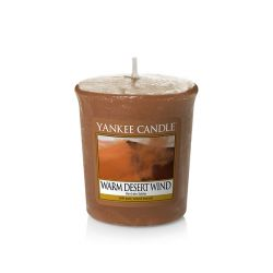 Candele profumate Yankee Candle color marrone  Warm Desert Wind Votive Candle online - Prezzo:   1.86 €