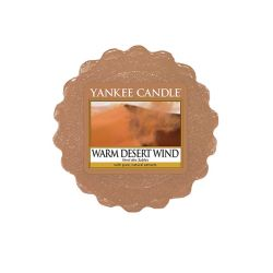 Candele Yankee Candle online  color marrone  Warm Desert Wind Tartina online - Prezzo:   2.25 €
