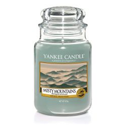 Candele Yankee Candle online  color azzurro  Misty Mountains Large Jar online - Prezzo:   29.90 €