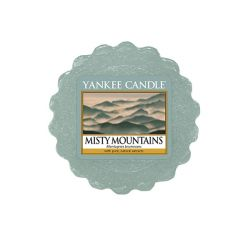 Candele Yankee Candle online  color azzurro  Misty Mountains Tartina online - Prezzo:   2.25 €