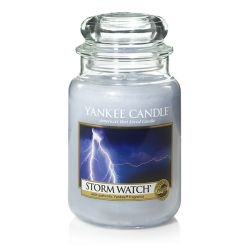 Candele profumate Yankee Candle color azzurro  Storm Watch online - Prezzo:   29.90 €