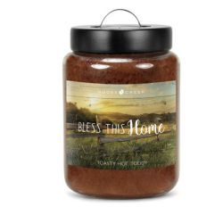 Candele profumate Goose Creek color marrone  BLESS THIS HOME Toasty Hot Toddy online - Prezzo:   27.90 €