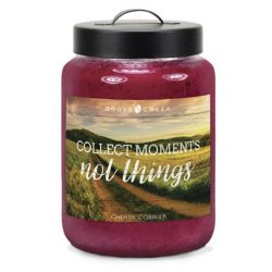 Candele profumate Goose Creek color rosa  COLLECT MOMENTS, NOT THINGS Cherry Cobbler online - Prezzo:   19.53 €