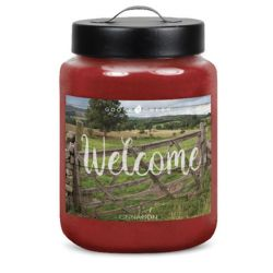 Candele profumate Goose Creek color rosso  WELCOME Cinnamon online - Prezzo:   19.53 €